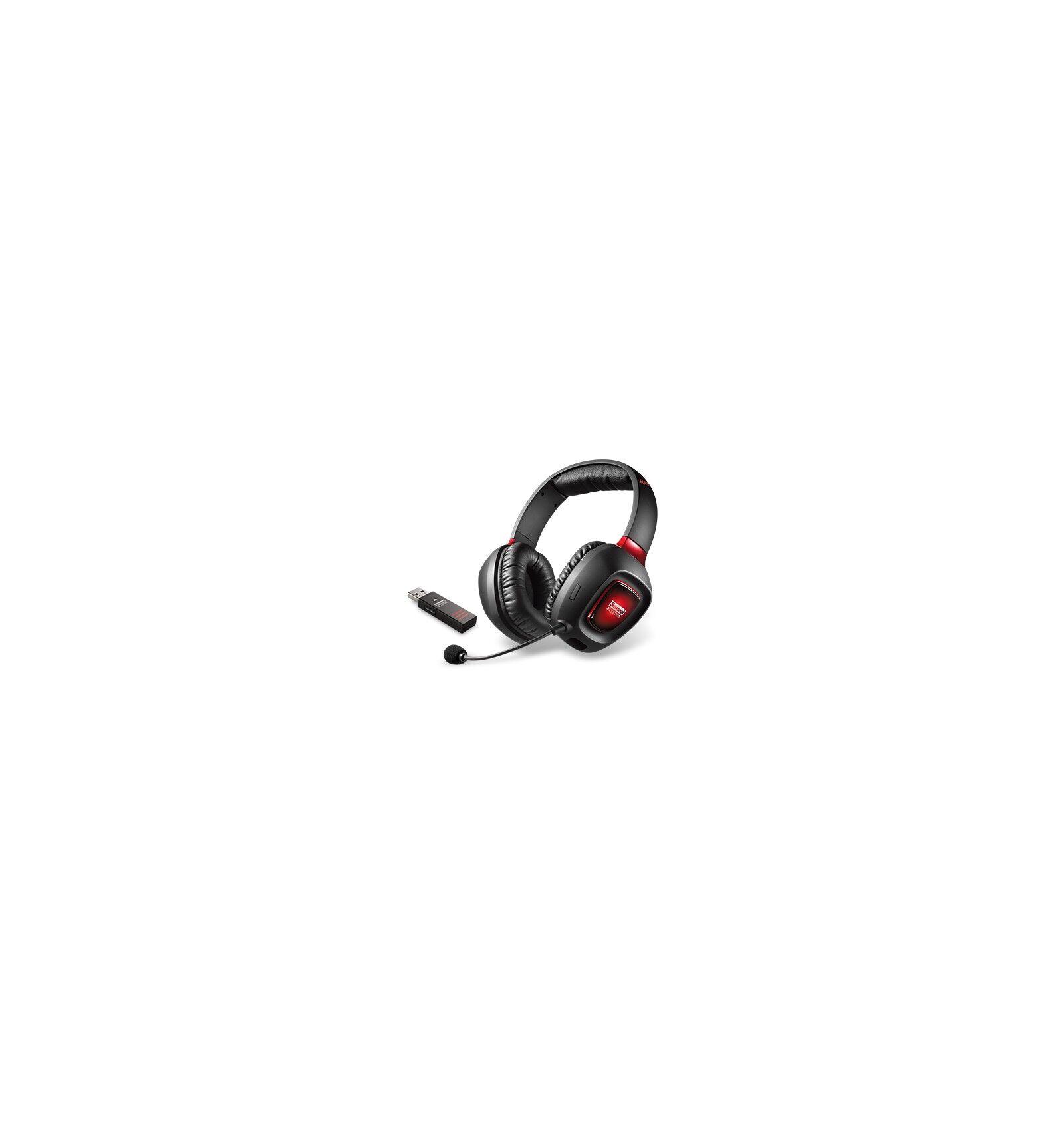 Creative Labs Sound Blaster Tactic3D Rage Wireless Kuulokkeet Pääpanta Musta