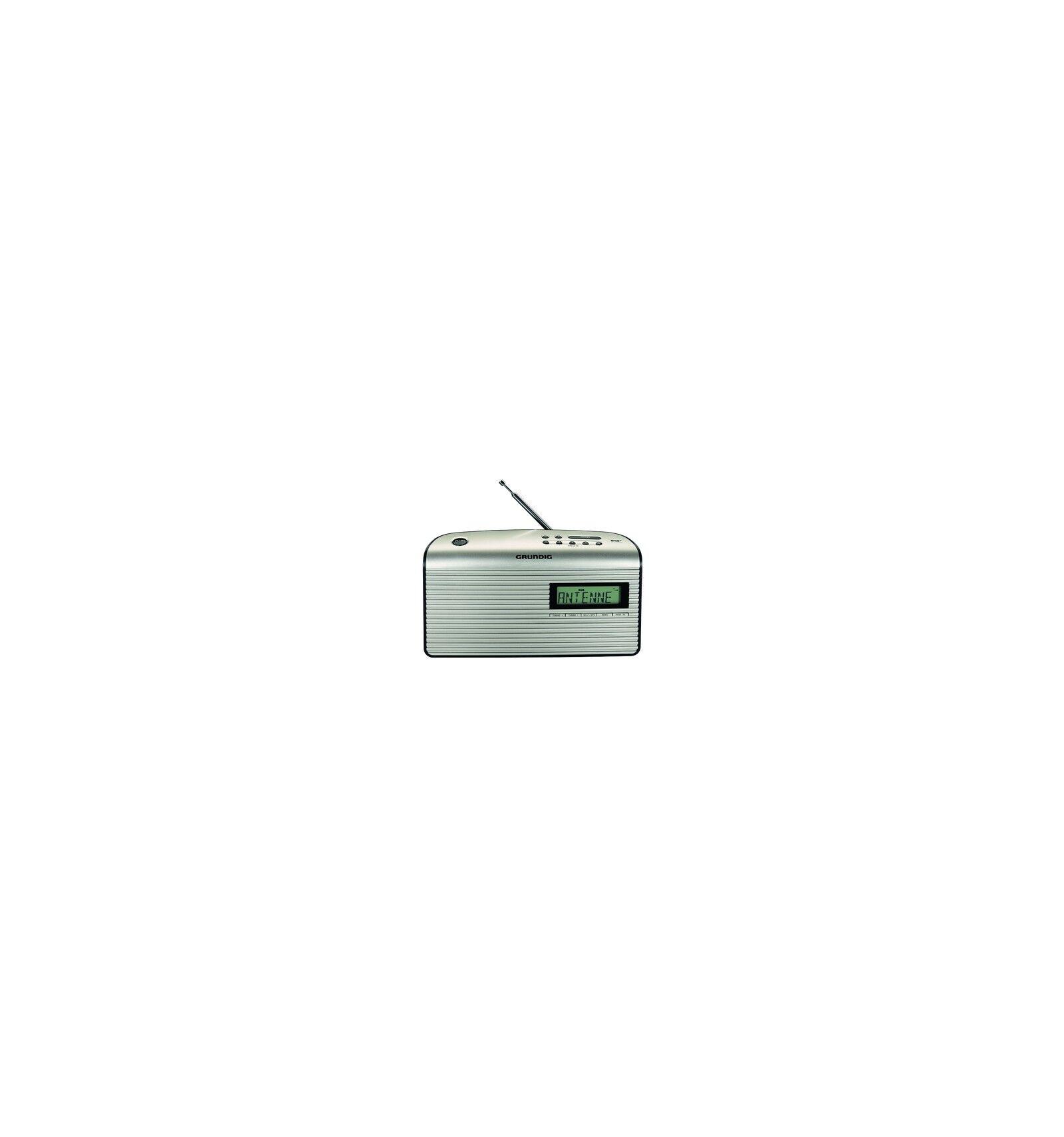 Grundig Music BP 7000 DAB+ radio Kannettava Analoginen & digitaalinen Musta, Helmi