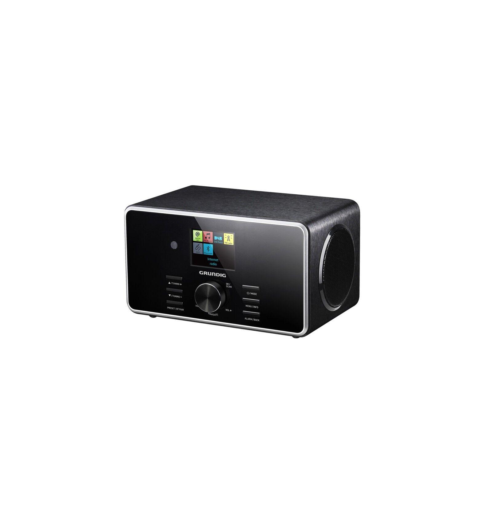 Grundig DTR 5000 2.0 BT DAB+ radio Henkilökohtainen Digitaalinen Musta
