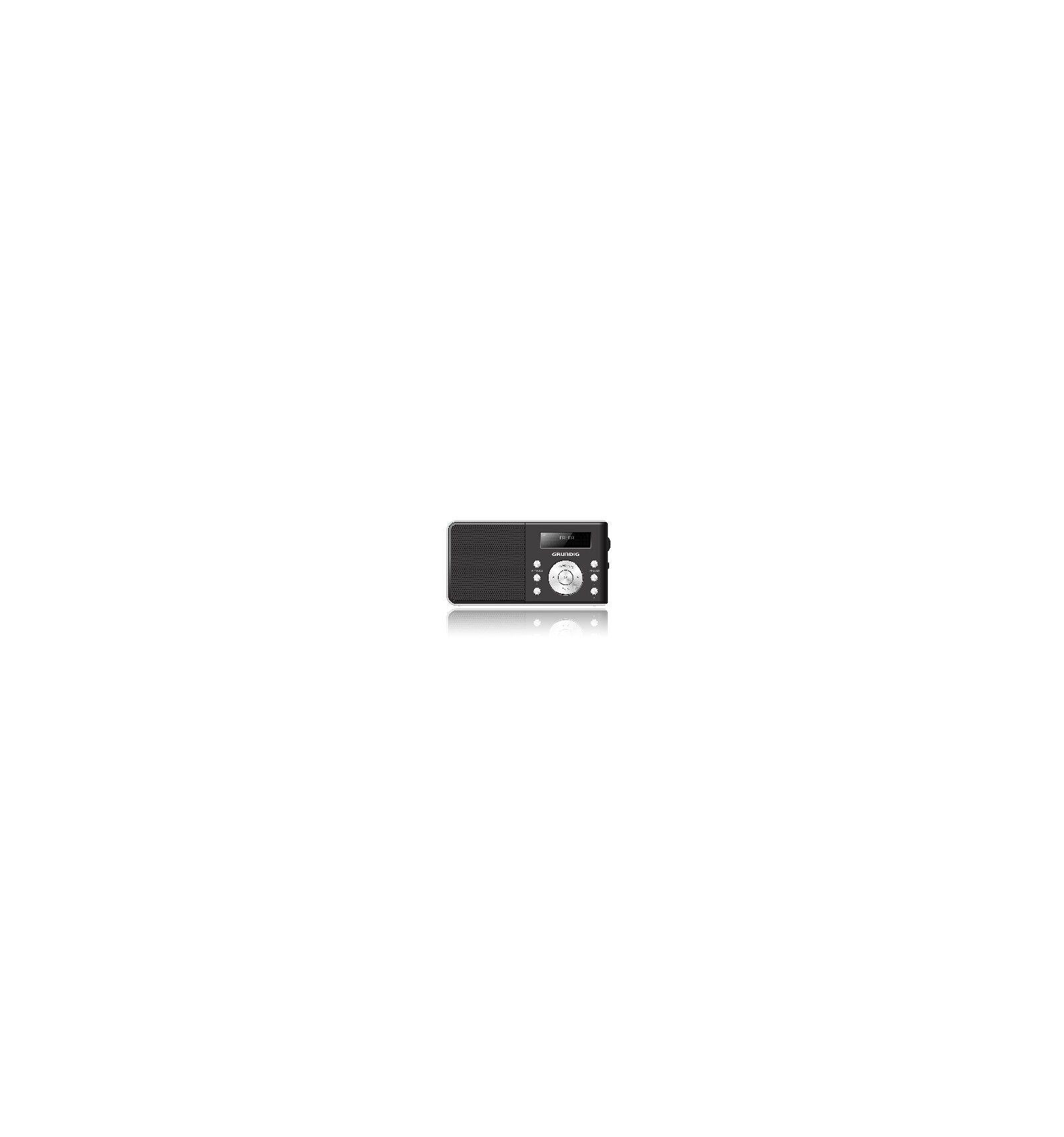 Grundig Music 6000 DAB+ radio Henkilökohtainen Digitaalinen Musta