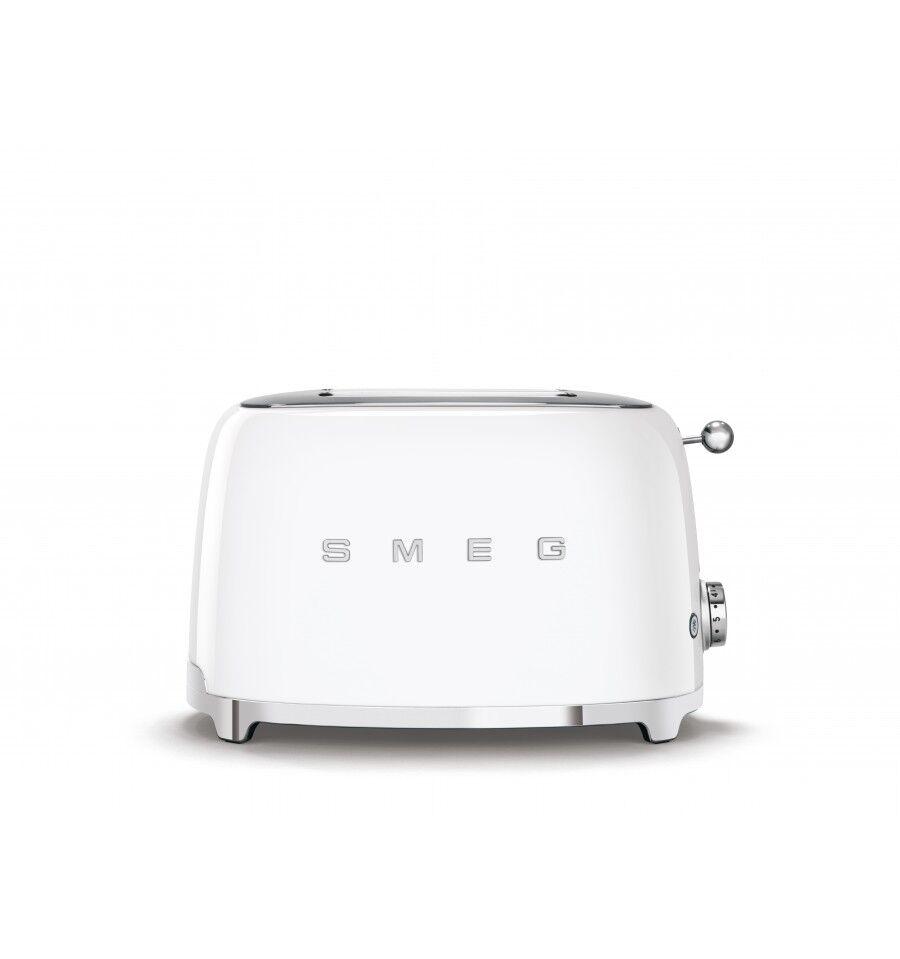SMEG TSF01WHEU leivänpaahdin 2 viipale(i)ta Valkoinen 950 W
