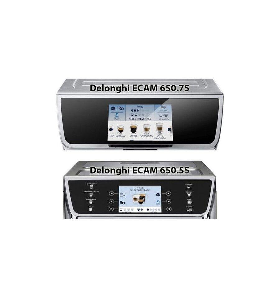DeLonghi PrimaDonna Elite ECAM 650.55.MS Yhdistelmäkahvinkeitin 2 L Täysautomaattinen