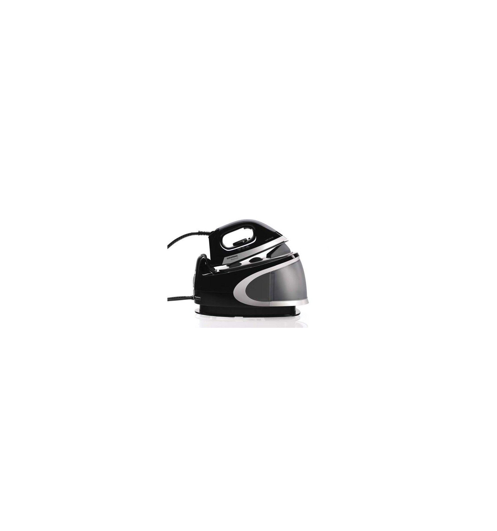 Grundig SIS 8250 100 W 1,7 L Keraaminen pohjalevy Musta, Hopea