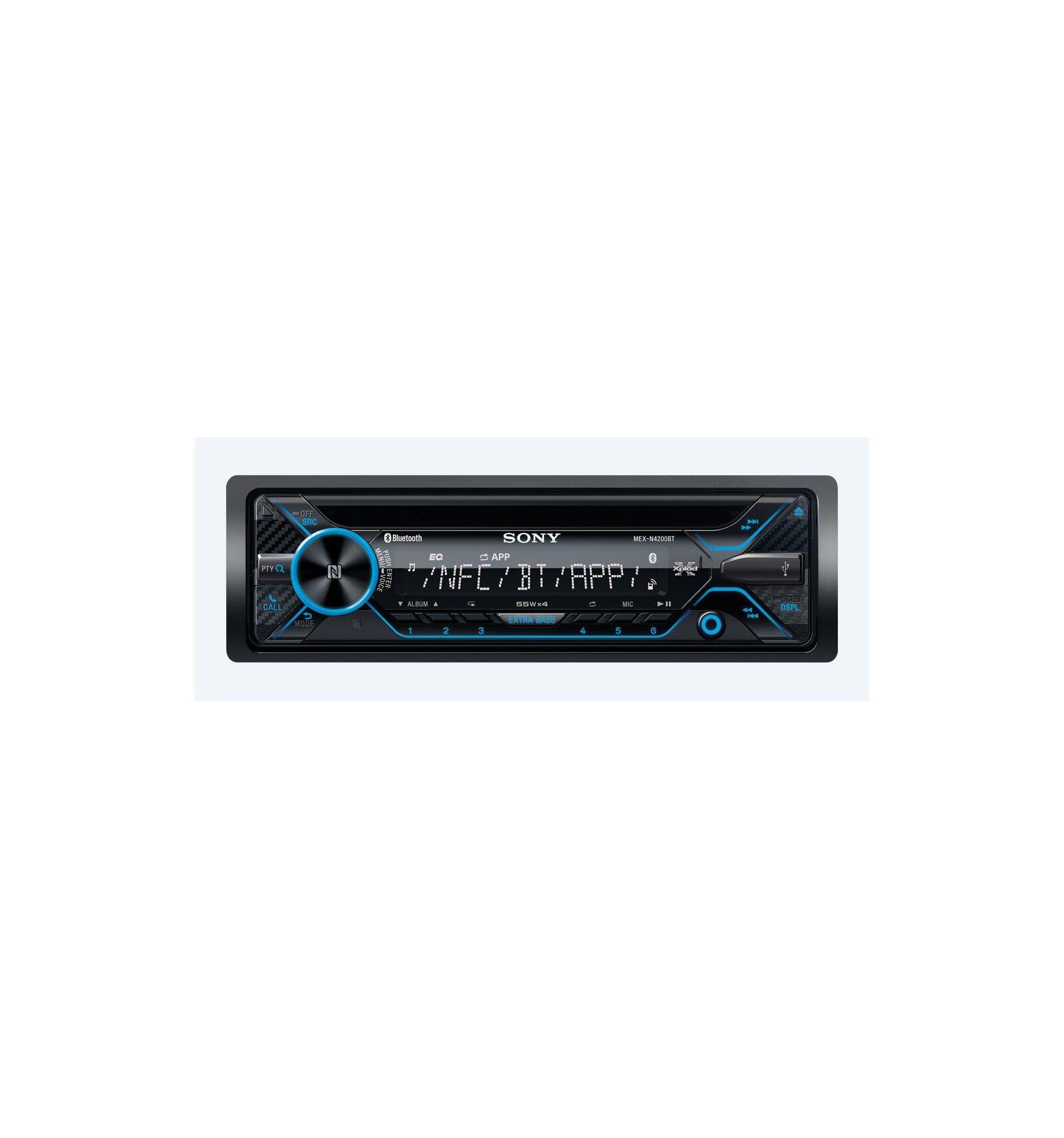 Sony MEX-N4200BT Musta 55 W Bluetooth