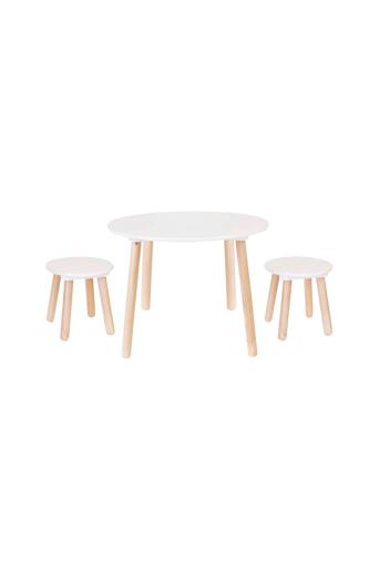 JaBaDaBaDo Pöytä ja kaksi jakkaraa