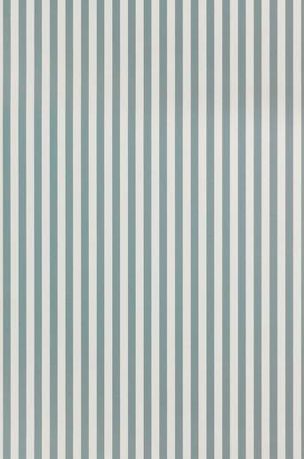 Ferm Living Tapetti Thin Lines  - Sininen/valkoinen