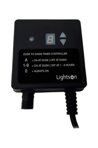 LightsOn Valosensori/ajastin enintään 150 W, IP44