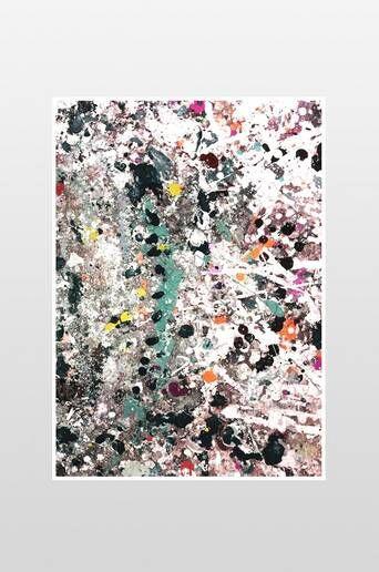 Ellos Spray juliste 50x70 cm  - Monivärinen