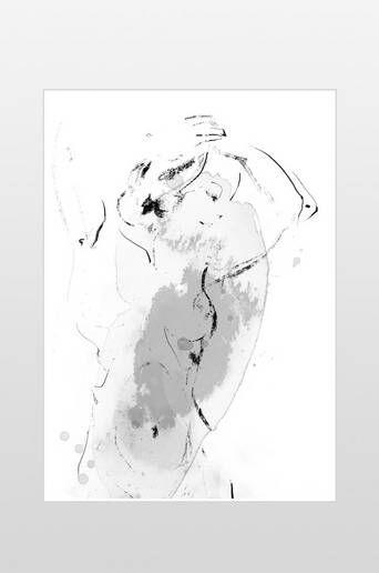 Ellos Lina juliste 50x70 cm  - Musta