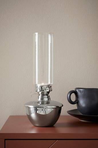 Ellos Alexis kynttilälyhty, korkeus 27 cm  - Shiny Silver