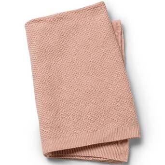 Elodie Details Vohvelipintainen torkkupeitto   Powder Pink