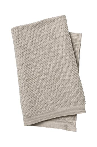 Elodie Details Moss Knitted Blanket Greige