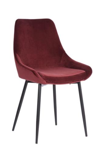 Nordic Furniture Group Ruokapöydän tuolit Paul, 4/pakk.  - Punainen
