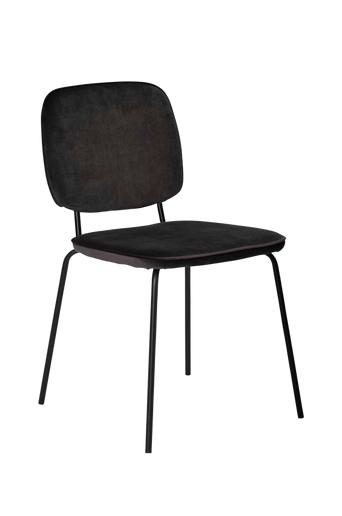 Nordic Furniture Group Ruokapöydän tuolit Noa, 2/pakk.  - Musta