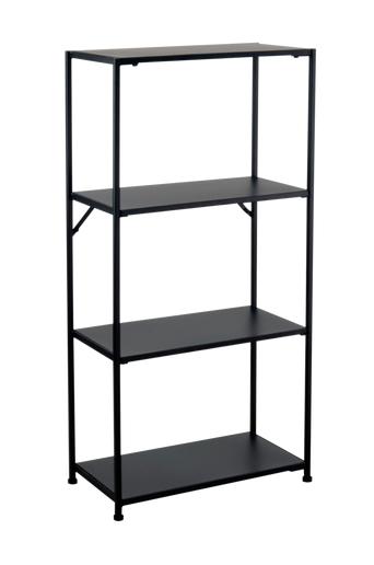 Nordic Furniture Group Hyllykkö Lola, 30 x 60 cm  - Musta