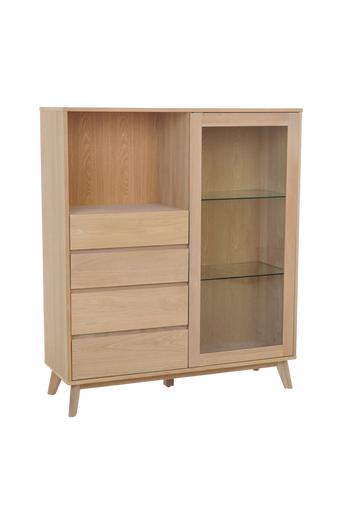 Nordic Furniture Group Kaappi Laura  - Valkopigmentti