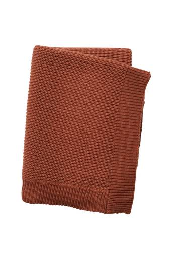 Elodie Details Wool Knitted Blanket Burned