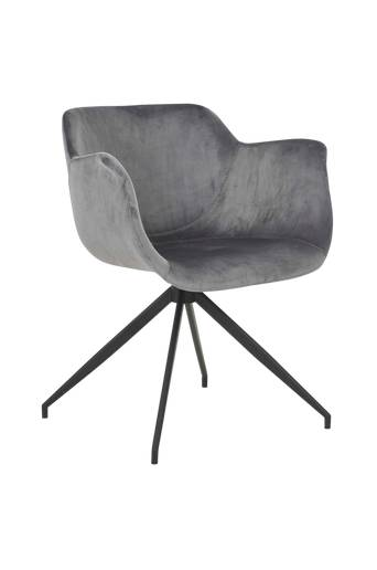 Nordic Furniture Group Ruokapöydän tuoli Erik, 2/pakk.  - Harmaa/musta