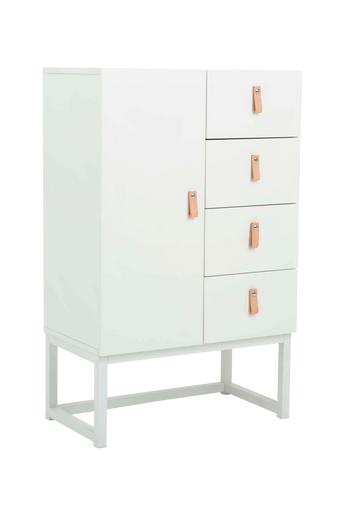 Nordic Furniture Group Kaappi Emmelie 2  - Valkoinen