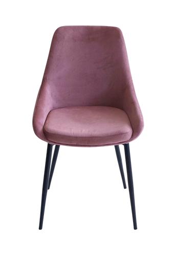 Nordic Furniture Group Ruokapöydän tuolit Lo, 4/pakk.  - Roosa/musta