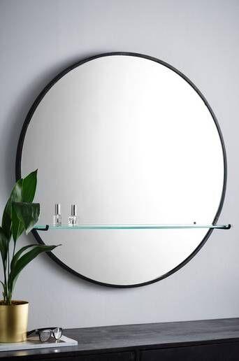Jotex Hyllyllinen peili SVEA - iso  - Musta