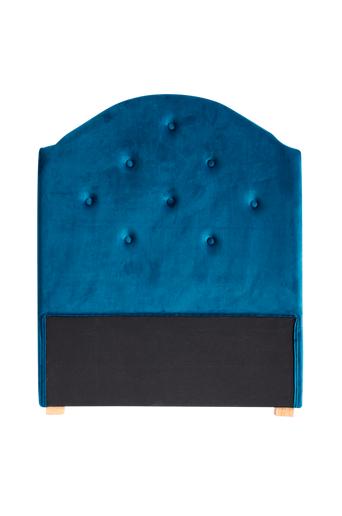 Kids Concept Sängynpääty sinistä samettia