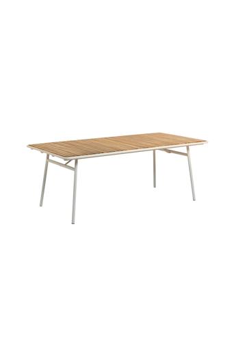 Kave Home Pöytä Robyn 160 x 90 cm  - Luonnonväri