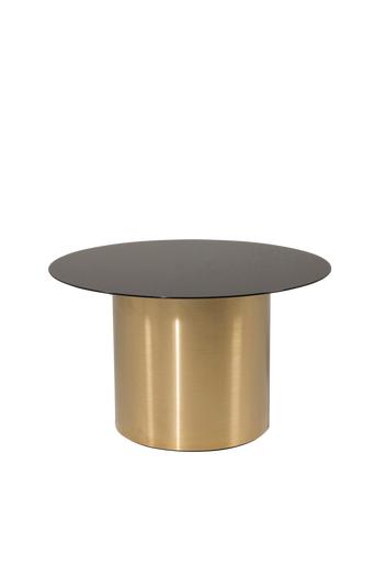 Furniture Fashion Sohvapöytä Ystad, halkaisija 75 cm  - Lasi