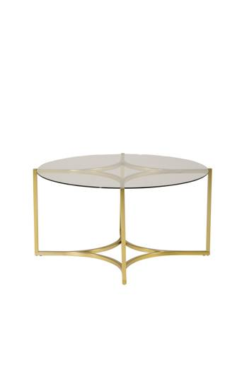 Furniture Fashion Sohvapöytä Kivik, halkaisija 75 cm  - Lasi