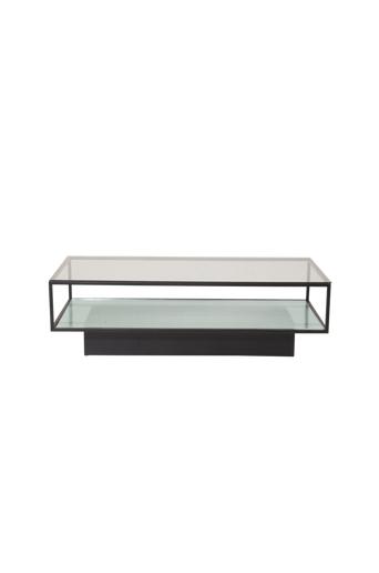 Furniture Fashion Sohvapöytä Maglehem, 60 x 130 cm  - Lasi