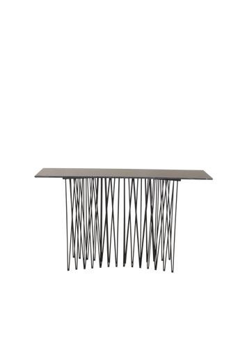 Furniture Fashion Sivupöytä Stone  - Harmaa