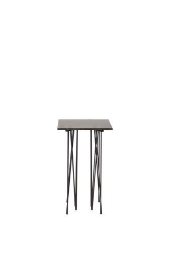 Furniture Fashion Sivupöytä Stone, korkea  - Harmaa