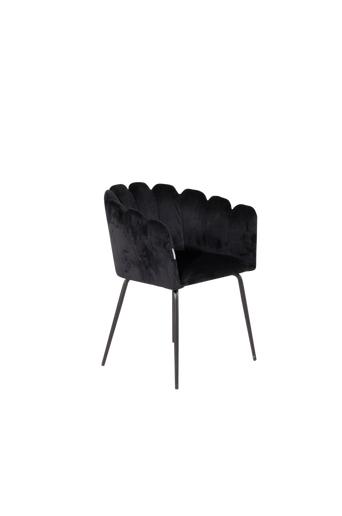 Furniture Fashion Käsinojalliset tuolit Limhamn  - Musta