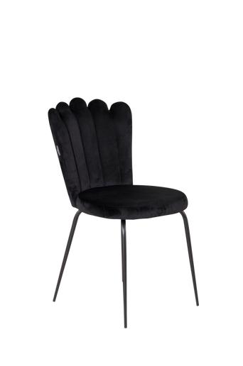 Furniture Fashion Ruokapöydän tuolit Limhamn, 2/pakk.  - Musta