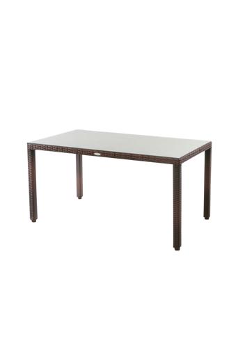 Hillerstorp ATLANTA pöytä 80x140 cm  - Ruskea