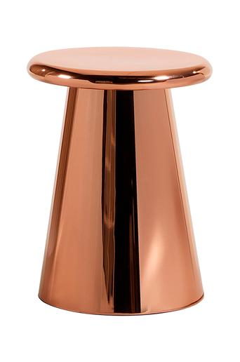 Kave Home PHIL sivupöytä metallia/kuparia  - Kuparinvärinen