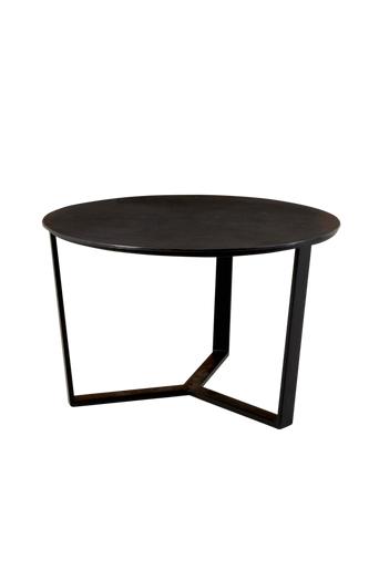 Martinsen Sohvapöytä Unico, Ø 75 cm  - Musta