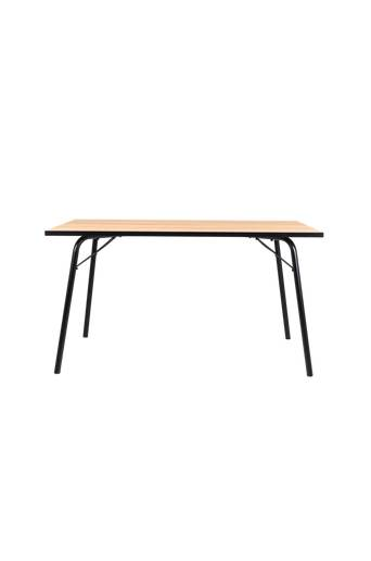 Tenzo Ruokapöytä Flow 140*80  - Tammi/musta