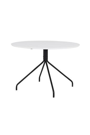Tenzo Ruokapöytä Ego Ø 110 HPL  - Valkoinen