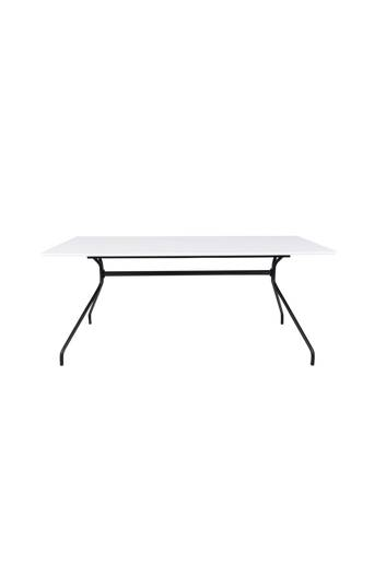 Tenzo Ruokapöytä Ego 180*90 HPL  - Valkoinen