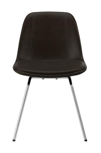 Tenzo Ruokapöydän tuoli Grace, 2 kpl  - Choco