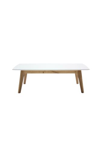 Tenzo Sohvapöytä BESS  - Valkoinen/tammi