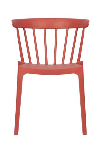 WOOOD Ruokapöydän tuolit Bliss, 2/pakk.  - Meloni