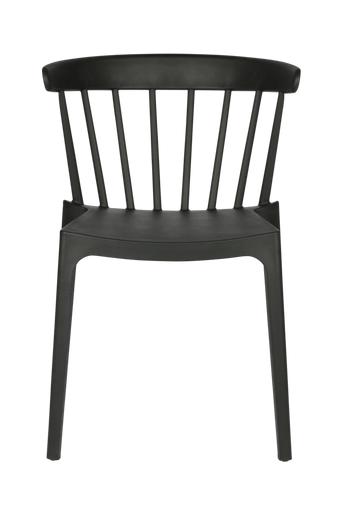 WOOOD Ruokapöydän tuolit Bliss, 2/pakk.  - Musta