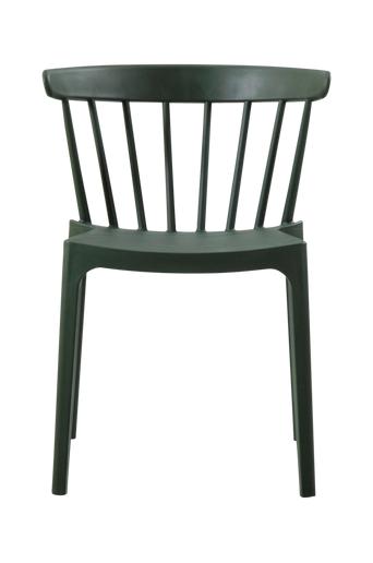 WOOOD Ruokapöydän tuolit Bliss, 2/pakk.  - Armeijanvihreä