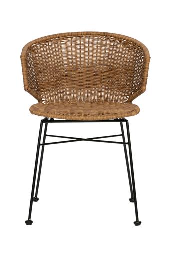WOOOD Ruokapöydän tuolit Noor, 2/pakk.  - Luonnonvärinen