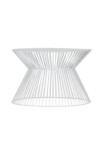 WOOOD Sohvapöytä Suus, 60x60  - Valkoinen
