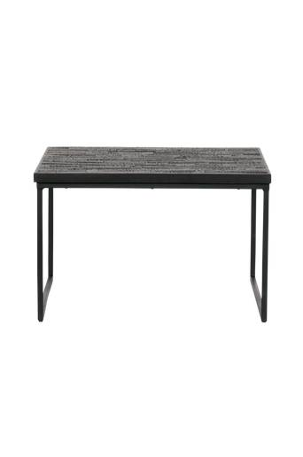 BePureHome Sivupöytä Sharing, 60x60  - Musta