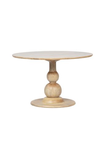 BePureHome Ruokapöytä Blanco Ø120 cm  - Kiiltävä