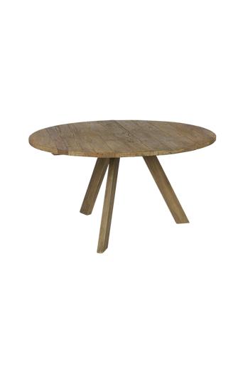BePureHome Ruokapöytä Tondo, Ø140 cm  - Luonnonvärinen